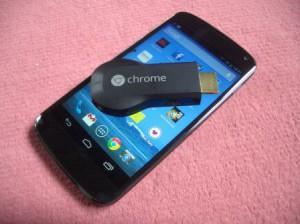 cle chromecast google