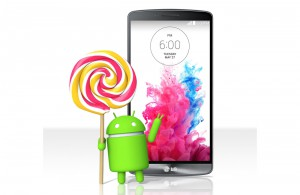 date sortie de Android 5 lollipop sur LG G3