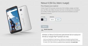 nexus 6 pas cher